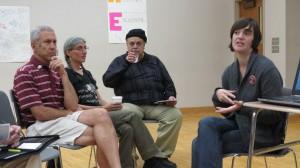 Katie Robbins facilitating workshop