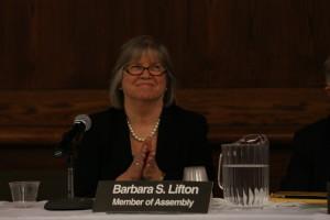 Assemblywoman Barbara Lifton