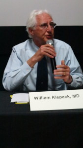 William Klepack, MD, Dryden Family Medicine and Medical Director of the Tompkins County Department of Health.
