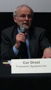 Cor Drost, President and CEO, Transonic Systems Inc.